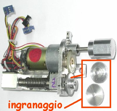 INGRANAGGIO MEADE LX / GEARS - Metal or Plastic