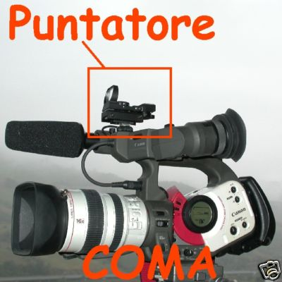 MIRINO PUNTATORE rapido videocamera CANON XL1 XL2 XL H1