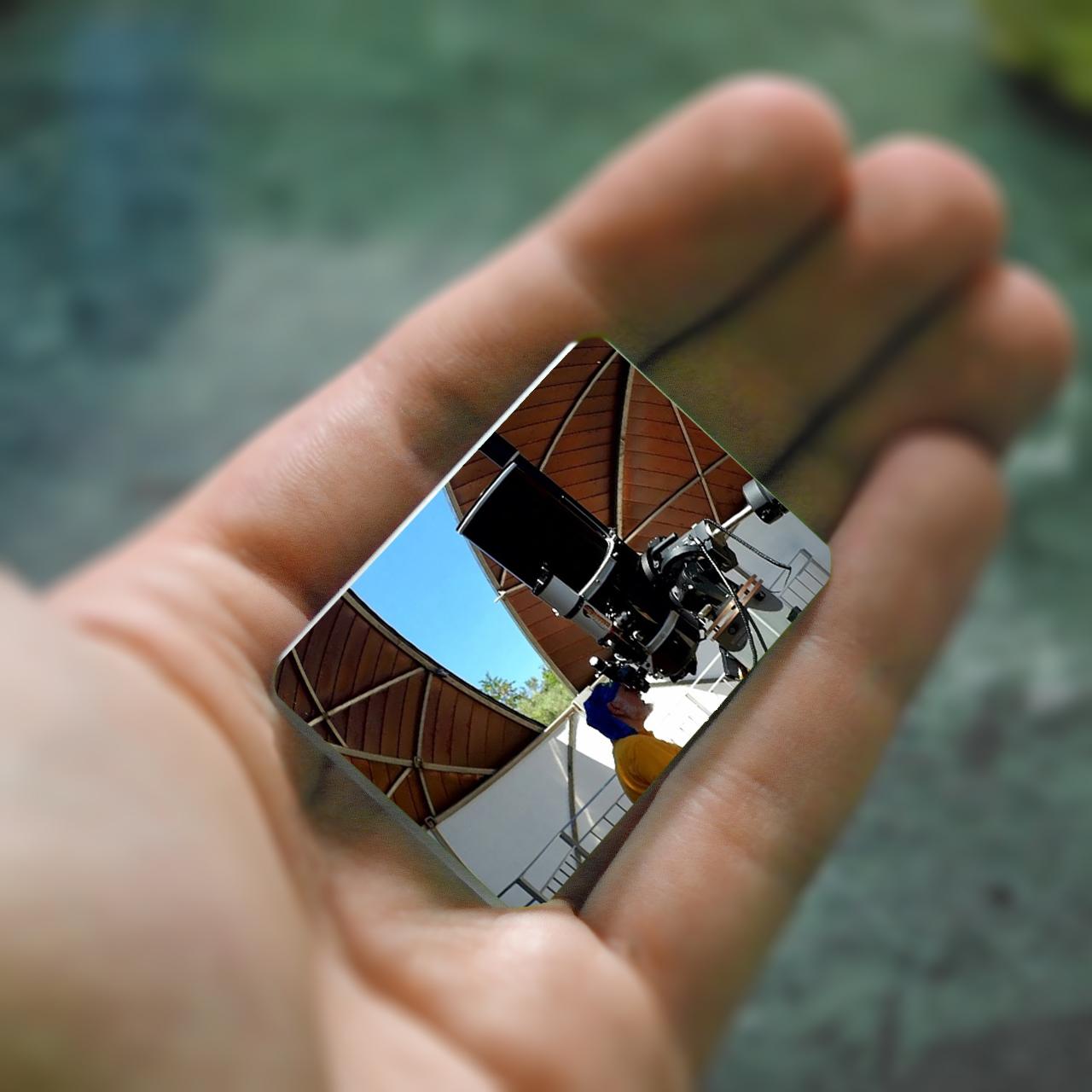 Specchio ottico piano 1/8 lampda alluminato e quarzato