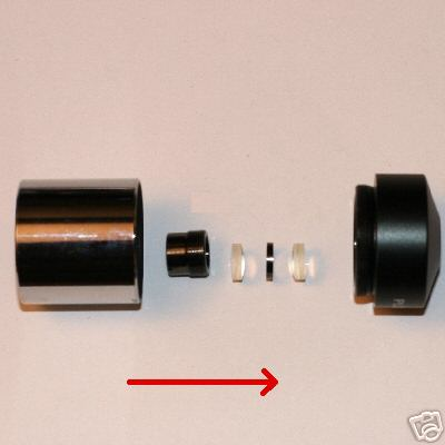 Kit per costruzione oculare Plossl 9 mm / eyepiece kit
