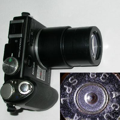 Nikon coolpix P5000 / P5100 super MACRO + 30