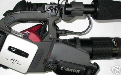 Raccordo adattatore per CANON XL1 XL2 XL H1 a ottiche Pentax K