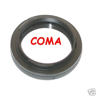 Pentax K anello T 2   /  T2 adapter ring  raccordo adattatore