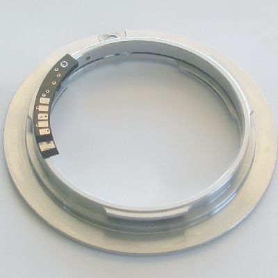 Canon eos adattatore con MICROCHIP a obiettivo Nikon raccordo adapter lens