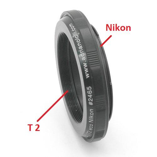 Nikon anello T2 / T 2 adapter economico ring NIKON raccordo adatatore