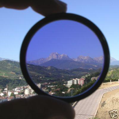 POLARIZZATORE Filtro ottico a polarizzazione circolare CPL Ø 58 diametro 58mm
