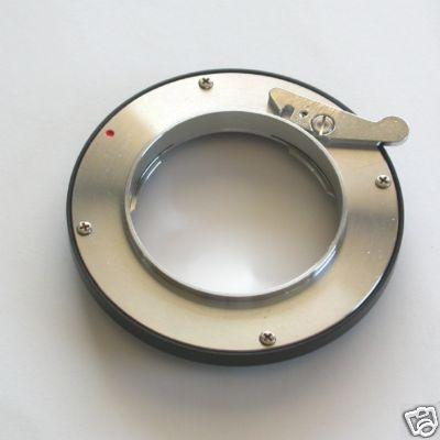 4/3 Baionetta Adattatore lens Exakta a corpo Olympus E / Lumix quattro terzi