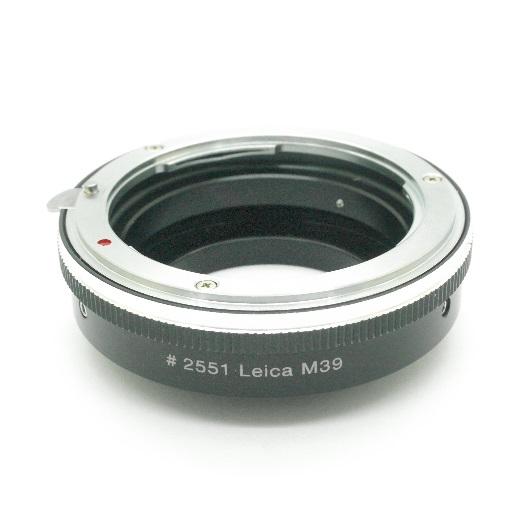 Leica M39 Zorki Voigtlander adattatore a lens NIKON raccordo adattatore