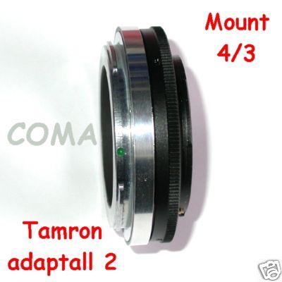 Tamron Adaptall 2 per fotocamere srl srld Olympus Leica 4/3 adattatore raccordo
