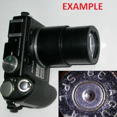 Nikon coolpix P6000 super MACRO + 30