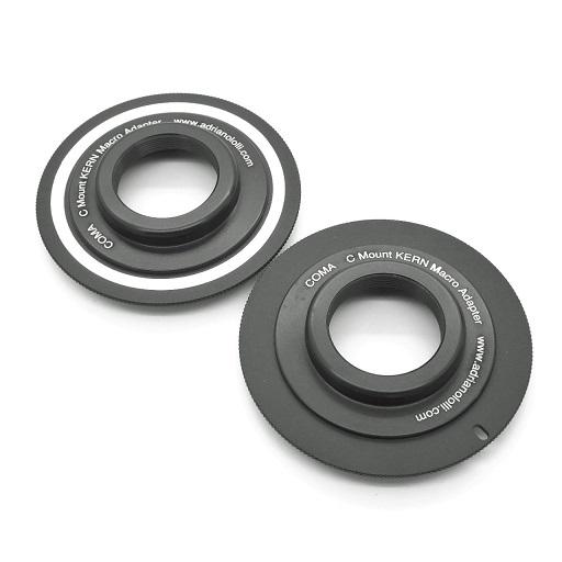 Adattatore macro lens KERN paillard C mount a Canon eos Nikon Pentax Sony M42 ..