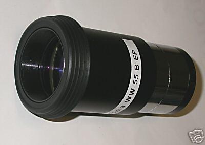 55 mm Oculare grandangolare F55 mm da 2 `` pollici a bassa estrazione pupillare