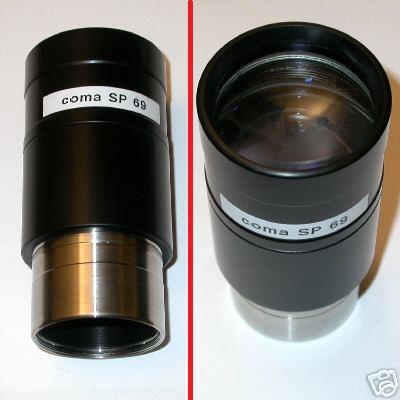 69 mm Oculare speciale SP f 69 mm da 2 pollici massima luce