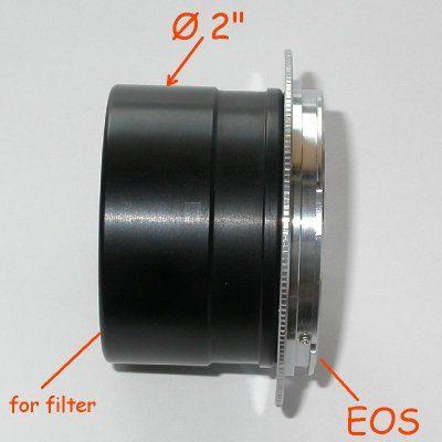 Canon eos EF RACCORDO diretto 2`` pollici per FOTO TELESCOPIO telescope