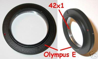 4/3 Baionetta Adattatore for lens M42 m 42 a corpo Olympus E  Lumix