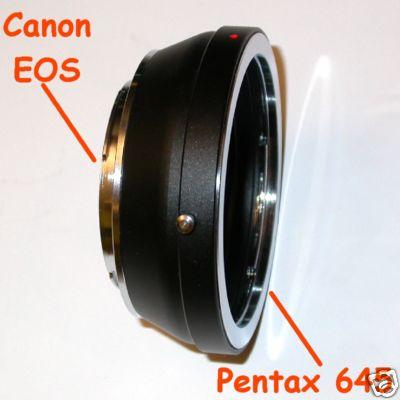 Canon eos EF Adattatore  a obiettivo Pentax 645 anello di raccordo adapter