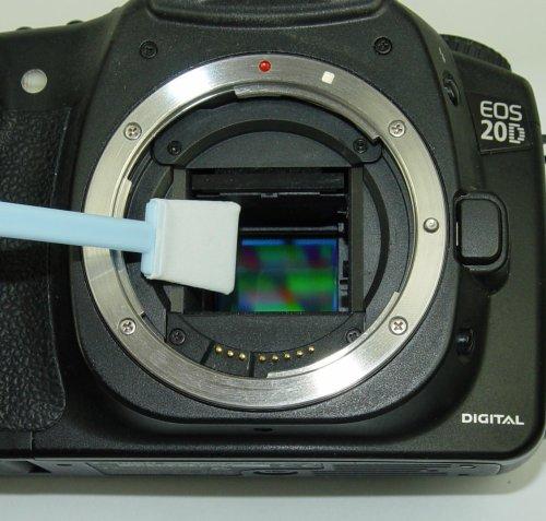 Prodotto pulizia in microfibra per sensore sensori ccd cmos reflex pieno formato