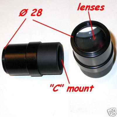 Nikon coolpix 4500 995 990 Ø 28 ADAPTER  C  MOUNT  Microscopio Microscope