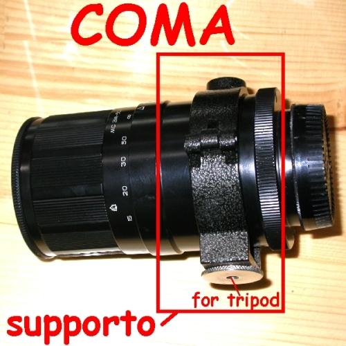 Supporto cavalletto x ottica russa MTO 500 / 8