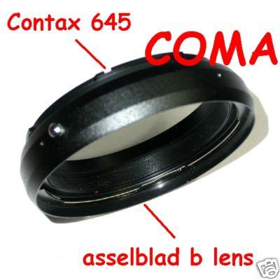 Contax 645 fotocamera adattatore per obiettivo Hasselblad Raccordo adapter ring