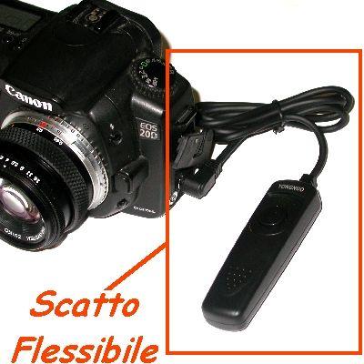 Canon EOS 5D Marck 1D 10D 7D 6D 5D 50D 40D 30D 20D SCATTO FLESSIBILE