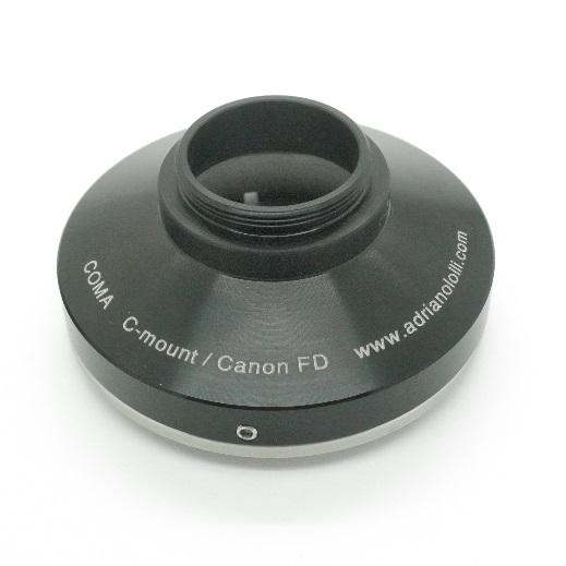 C mount Raccordo adattatore  passo C CS a obiettivo Canon FD Adapter lens
