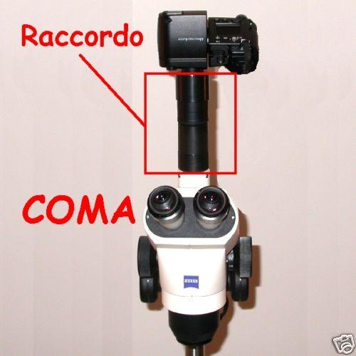 ZEISS STEMI 2000C terminale  raccordo FOTO VIDEO microscopio microscope