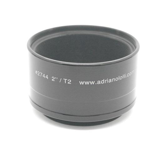 RACCORDO 2 ``senza battuta per FOTO a filetto T2 TELESCOPIO T ADAPTAL adattatore