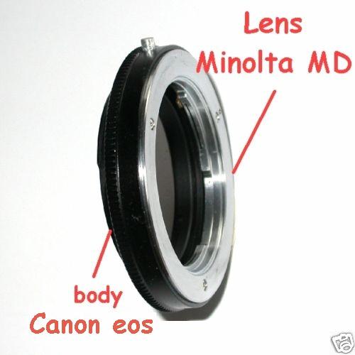 Canon EOS anello adattatore a obiettivo Minolta MD versione MACRO