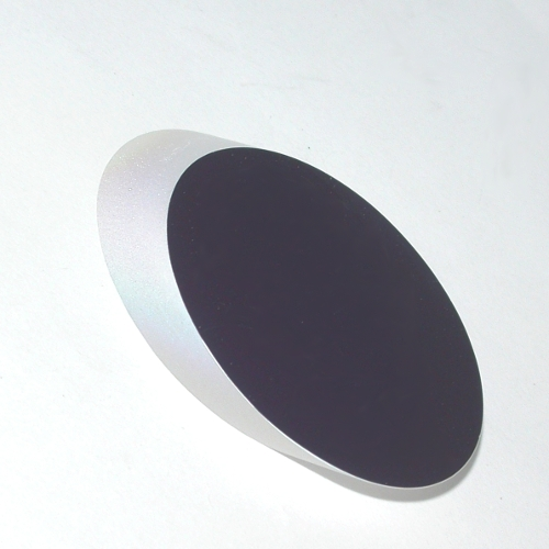 Specchio ottico piano ellittico lavorazione 1/8 lampda trasmissione 99%