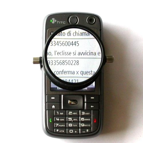 LENTE INGRANDIMENTO per telefono cellulare in vetro ottico