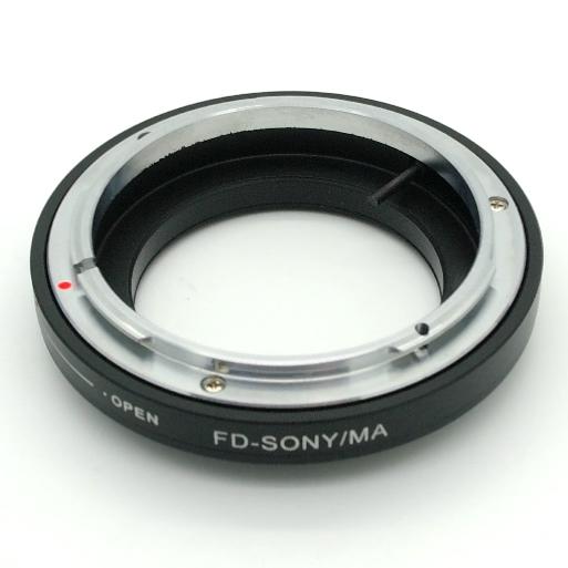 Sony Minolta camera o soffietto Raccordo MACRO per  ottiche innesto Canon FD