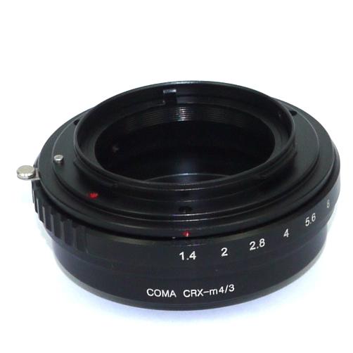 Micro 4/3 Olympus Lumix Panasonic anello raccordo a obiettivo Contarex