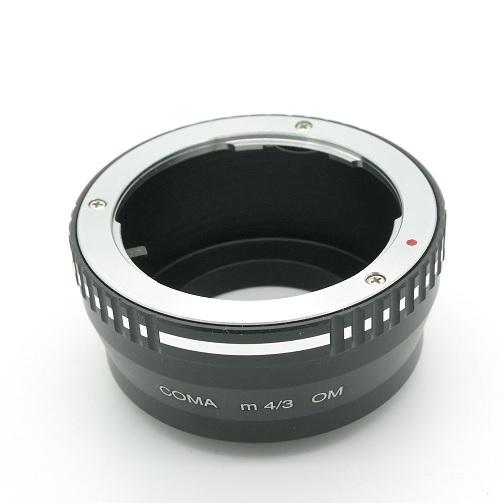micro 4/3 Olympus Lumix Panasonic anello raccordo a obiettivo Olympus OM