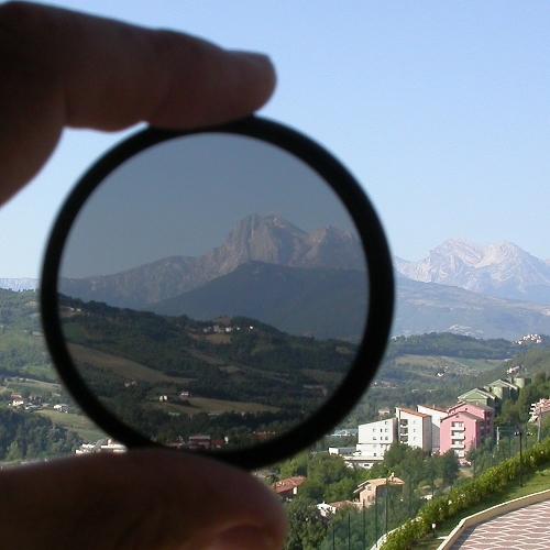 ND 4 ND4  Filtro ottico di assorbimento  neutro   Ø 67 diametro 67mm