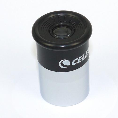 17,5 mm Oculare Kelner  (48°)  attacco diametro Ø 0,96 ``  24,5 mm - eyepiece