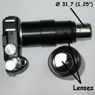 Nikon coolpix P 5000 / P 5100 ADAPTER PHOTO TELESCOPE