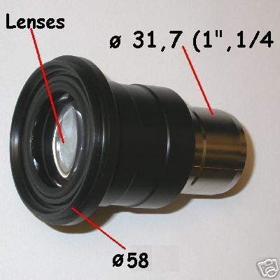 PHOTO ADAPTER  TELESCOPE for prosumer ø 58 canon nikon .....