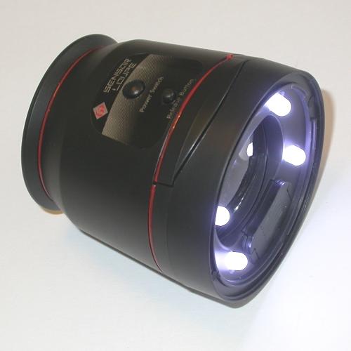 Oculare illuminato per sensore fotocamera reflex digitale dslr Pulizia ccd cmos