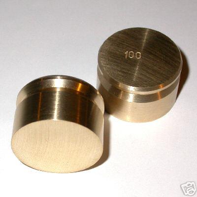 Fabricazione di PESI DI PRECISIONE grammi Weight Precision