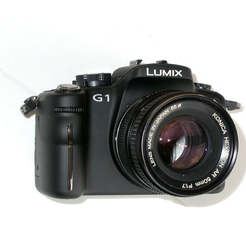 micro 4/3 Olympus Lumix Panasonic  raccordo a obiettivo KONICA manual focus
