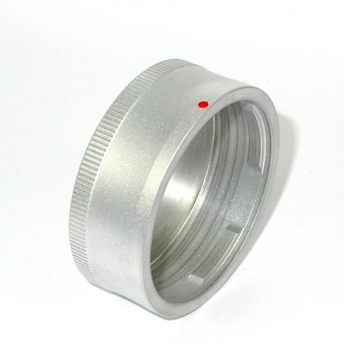 Leica M Voigtlander Bessa Tappo retro obiettivo metallo SATINATO rear lens cap