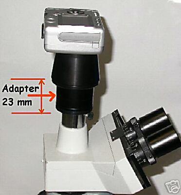 Adattatore foto microscopio 23 / adapter photo 23,2 mm