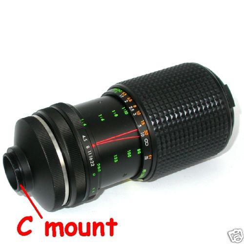 Obiettivo MEGAPIXEL zoom per telecamera C mount focale 75/200