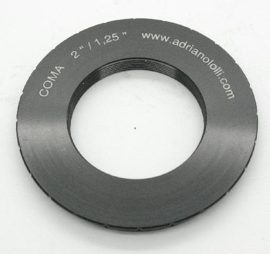 Raccordo per filtri da 1,25 pollici ad oculari con barilotto da 2 ``