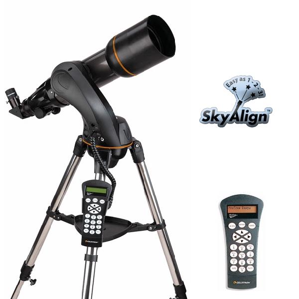 CELESTRON Telescopio rifrattore computerizzato Nexstar 102 SLT   CE22096-DS