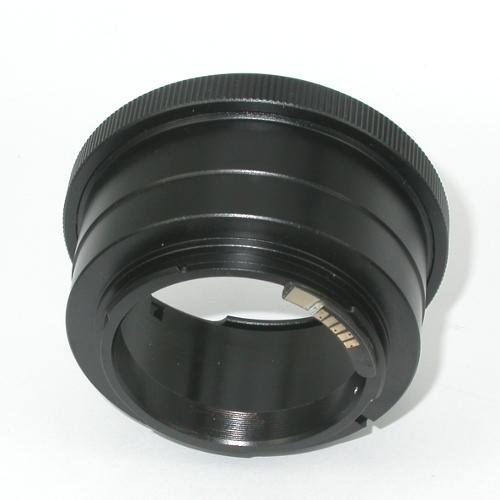 Canon eos EF Adattatore a obiettivo Pentacon six Exakta Kiev 60 CON MICROCHIP
