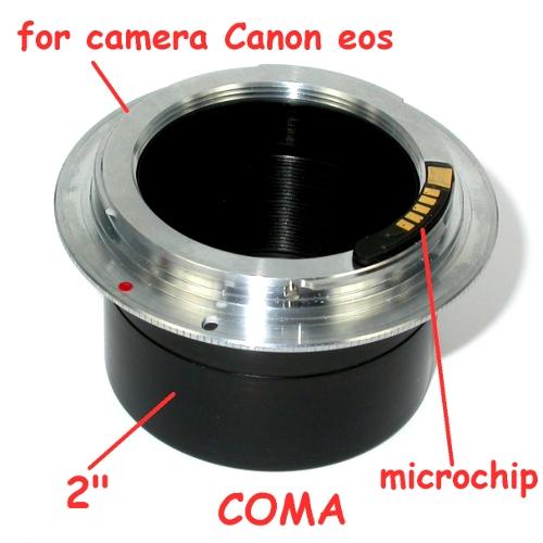 Canon eos EF RACCORDO diretto 2 pollici per FOTO TELESCOPIO con MICROCHIP