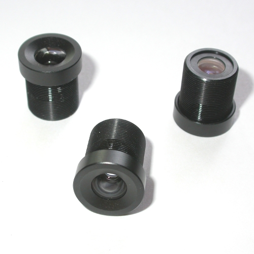 Obiettivo telecamera CCTV passo S mount f 6 mm