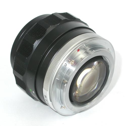 MODIFICA  obiettivo Minolta ROKKOR f = 58 mm 1: 1,2 a Canon eos